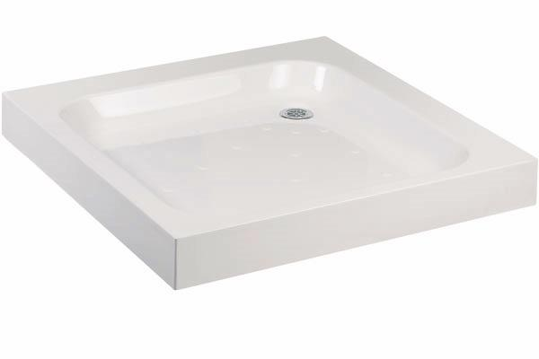 Lakes Traditional Stone Resin Deep Shower Tray 800mm X 800mm