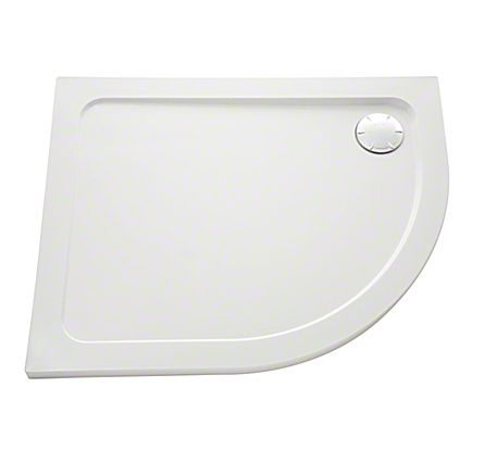 Mira Flight Safe Low 1200mm x 900mm Offset Quadrant Left Hand Shower Tray Anti-Slip