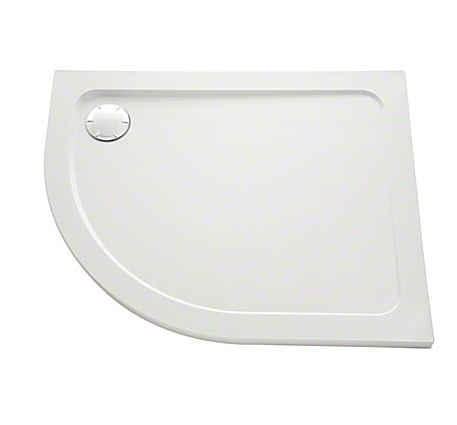 Mira Flight Safe Low 1200mm x 900mm Offset Quadrant Right Hand Shower Tray Anti-Slip