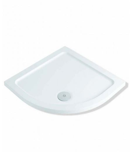 MX Durastone 1000mm x 1000mm Low Profile Quadrant Shower Tray XFW