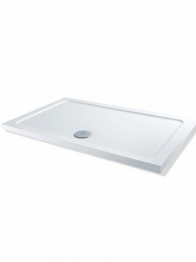 MX Durastone 1100mm x 760mm Rectangular Low Profile Shower Tray XPU