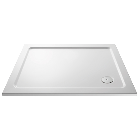 Home Standard 1000mm x 800mm Low Profile Rectangular Shower Tray
